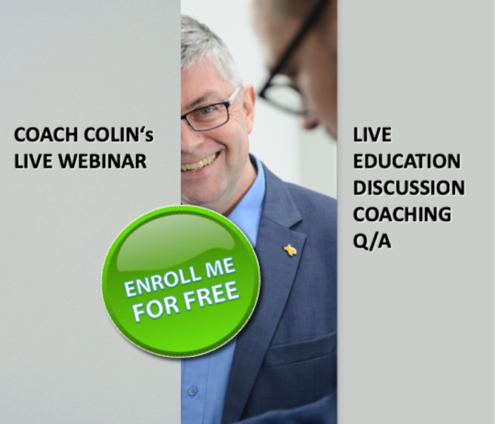 Enroll me to the Leaders Lighthouse LIVE with Coach Colin